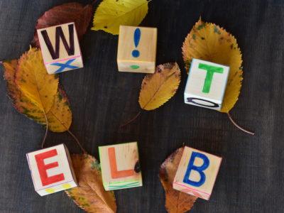 Metoda Montessori - cuburi educative