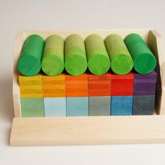 cuburi de construit din lemn