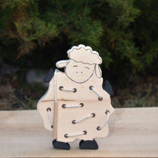 Jucarie de snuruit din lemn - Oita
