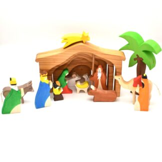 Scena nasterii Domnului figurine