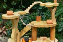 casuta papusi lemn